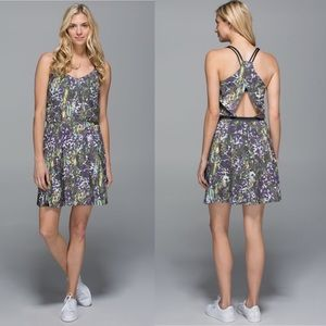 Lululemon City Summer Dress Racerback Open Back 10